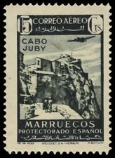 "CABO JUBY C13 (Mi131) - Plane over Velez ""Airmail"" (pa57528)"