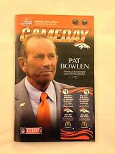 2013 NFL RAVENS @ BRONCOS FOOTBALL PROGRAM - MANNING 7 TOUCHDOWNS TIES RECORD