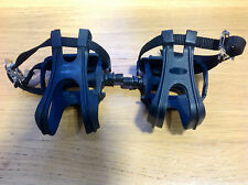 Pedals With Toe Clips And Straps Suitable For Mountain  Hybrid Or Road  Racing