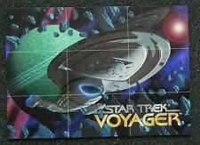 STAR TREK VOYAGER _ 1995 SkyBox PROMO Card Series One - MAIL WORLDWIDE ...e