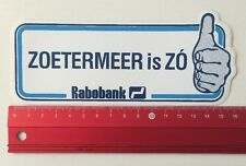 Aufkleber/Sticker: Rabobank - Zoetermeer Is ZÓ (120616129)