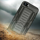 Rugged Armor Hybrid  Rubber Case Hard Shockproof Cover For Apple iPhone 4 4S