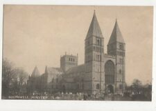 Southwell Minster NW Vintage Postcard 460a