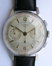 VINTAGE POLJOT/STRELA CAL.3017 MILITARY CHRONO MEN'S WRIST WATCH USSR 1960's