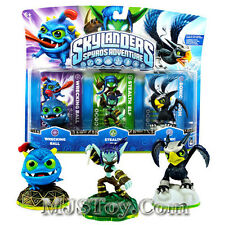 NIB Skylanders Spyro Adventure WRECKING BALL, STEALTH ELF SONIC BOOM Skylander