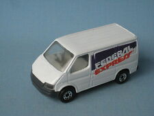 Matchbox Ford Transit Van Federal Express FedEx Toy Model Car 75mm
