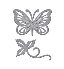 SPELLBINDERS D-LITES cutting die BRILLIANT BUTTERFLY Cuttlebug/Sizzix compatible