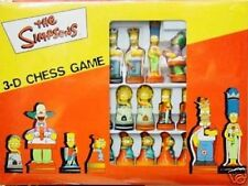 THE SIMPSONS 3-D CHESS GAME FIGURE ER SCACCHIERA ORIG.