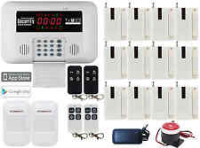 O54 Android APP GSM Wireless&Wired Home Security Alarm Burglar System Auto Call