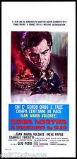 A CIASCUNO IL SUO LOCANDINA CINEMA FERZETTI VOLONTÉ PAPAS MAFIA COSA NOSTRA 1967