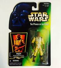 "HASBRO / KENNER STAR WARS 3.75INCH POWER OF THE FORCE "" BOSSK "" - RARE"