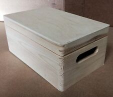 Pine wood storage trunk DD168 30x20x14CM crate case toys  box