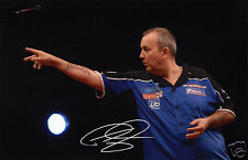PHIL THE POWER TAYLOR AUTOGRAPH SIGNED PP PHOTO POSTER
