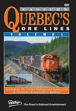 EASTERN QUEBEC'S ORE LINES VOL 1 PENTREX NEW DVD VIDEO