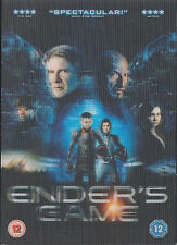ENDER'S GAME - Harrison Ford, Asa Butterfield, Ben Kingsley (DVD 2014)