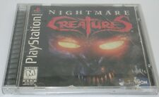 Playstation 1 PS1 Nightmare Creatures Complete Working R12832