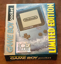Nintendo Game Boy Pocket Ice Blue Limited Edition New in Box