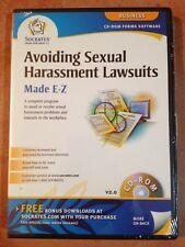 ☀️ NEW Avoiding Sexual Harassment Lawsuits CD-ROM Made E-Z Business Software