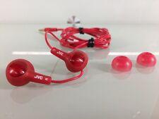 JVC Gumy Plus In-Ear Earbuds, Red (GG)
