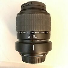 Canon MP-E 65mm f/2.8 1-5x Macro Photo Lens w/Tripod Mount