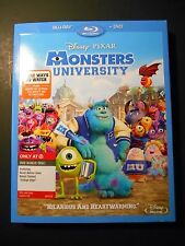 Disney Monsters University Blu-ray Target Exclusive W/Slipcover
