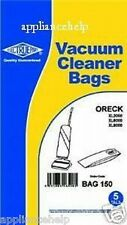ORECK XL9000 Vacumn Cleaner Paper Dust Hoover BAGS 5PK