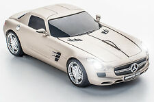 Click Car Mouse Mercedes-Benz SLS AMG Wireless Optical Mouse (Pearl Beige Matte)