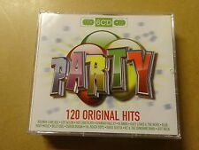 6 CD BOX / ORIGINAL HITS - PARTY - OVER 6.5 HOURS OF MUSIC (EMI)