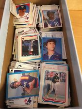 1980's Baseball Stickers, Over 700