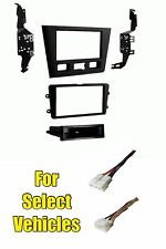 96-03 Acura RL Single/Double Din Car Stereo Radio Install Dash Kit +Wire Harness