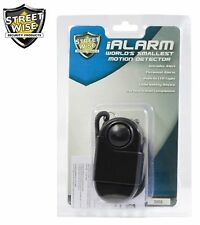 Streetwise iAlarm Flashlight, Motion Detect, Alarm, Wrist strap, Panic button