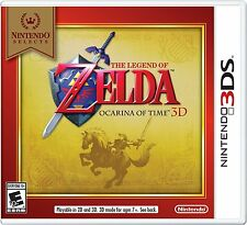 Nintendo Selects: The Legend of Zelda Ocarina of Time 3D Brand New