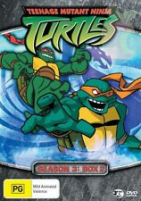 Teenage Mutant Ninja Turtles Season 3 Box 2  Vol 4-6 (DVD, 2007, 3-Disc Set)Reg4
