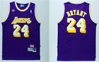 NBA Kobe Bryant #24 Los Angeles Lakers RETRO purple swingman jersey - S/M/L