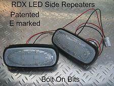 RDX LED CLEAR Side Repeaters Rover 75 & Tourer MG ZT ZT-T 1.8 V6 V8 ALL Models