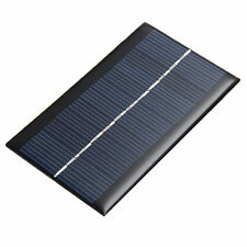 6V 1W Solar Panel Solar System DIY For Cell Phone Toys Chargers Portable