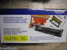new Genuine Brother TN-210Y Yellow Toner HL-3040CN HL-3045CW MFC-9320 MFC-9120CN