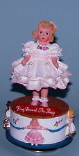 """Madame Alexander resin doll """"Ring Around the Rosy"""" #90480 music box rotates"""