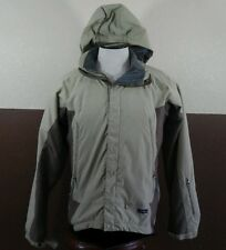 VTG Patagonia Mens Biege & Brown Regulator R Series Nylon Jacket Sm