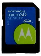 Motorola Micro SD auf SD Adapter für 2, 4, 8, 16, 32, 64 GB Speicherkarten NEU
