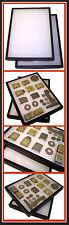1 Display Case Deeper For WWII German US British Buckle Medal Badge Helmet Plate