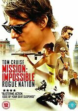 MISSION IMPOSSIBLE  ROGUE NATION      NEW SEALED GENUINE UK DVD