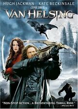 Van Helsing  DVD Hugh Jackman, Kate Beckinsale, Richard Roxburgh, Shuler Hensley