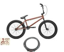 KINK BIKES CURB MATTE RAT ROD RED 2017 BMX BIKE BICYCLE W/ FREE Kryptonite LOCK