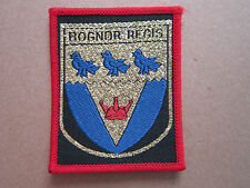 Bognor Regis (Red Border) Woven Cloth Patch Badge