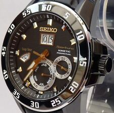 SEIKO SPORTURA KINETIC PERPETUAL CALENDAR BRAND NEW MENS WATCH SNP089P1
