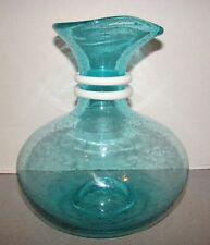 Paola Navone Crate & Barrel Riviera Glass Carafe Pitcher