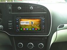 AUTORADIO DVD/GPS/NAVI/BLUETOOTH/DAB+/ANDROID 4.4.4 Player SAAB 93/9-3 M016
