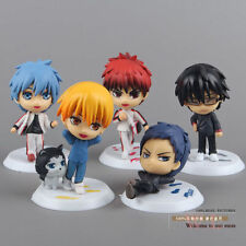 Kuroko no Basket pvc figures toys set of 5pcs collection doll new arrival