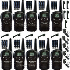 Midland Xtra Talk LXT118VP 10 Pack Set Two Way Radio Walkie Talkie GMRS 18 Mile